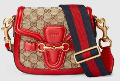 Gucci Lady Web shoulder bag. (Image: Purseblog.com)