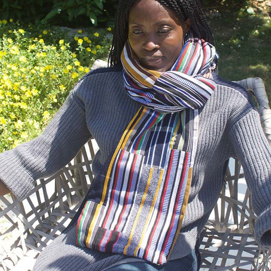 pagnaa handwoven patchwork scarf